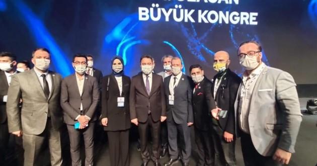 DEVA Partisi Afyonkarahisar Teşkilatı, tam kadro kongreye katıldı