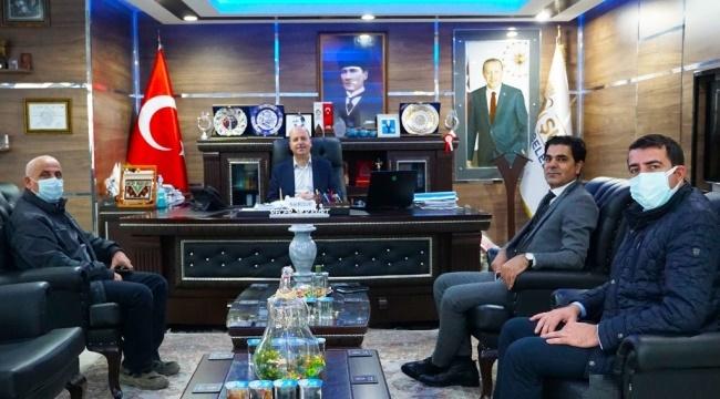 DSİ BÖLGE MÜDÜRÜ, BAŞKAN BOZKURT'U ZİYARET ETTİ