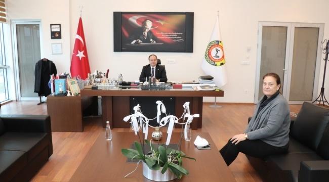 Dünya Gazetesinden Başkan Serteser'e ziyaret