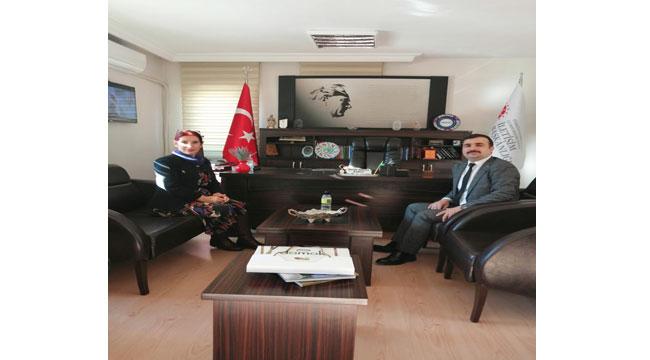 Erkan Tanyeri, Şerife Münire Burcu'yu ziyaret etti