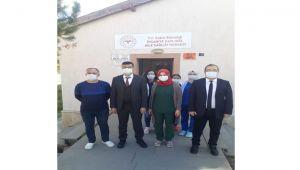 GAZLIGÖL'DE 112 ACİL SAĞLIK İSTASYONU İNŞAATI DEVAM EDİYOR