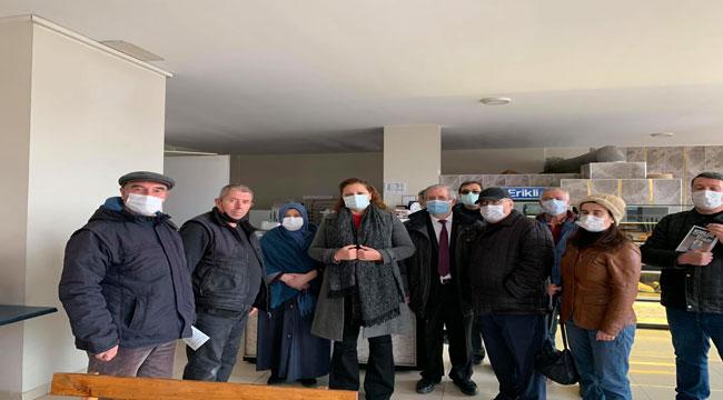 Milletvekili Köksal, esnafa CHP'nin 22 çözüm önerisini anlattı