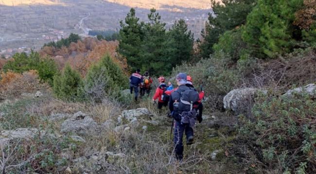 Ormanda kaybolan kadının bulunması için çalışmalar devam ediyor