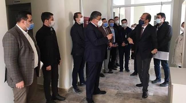 Milletvekili Ali Özkaya'dan AFSÜ Rehabilitasyon merkezine ziyaret
