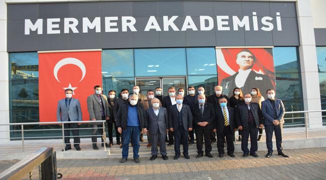 Taytak, İscehisar OSB'yi ziyaret etti