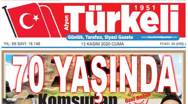 TÜRKELİ GAZETESİ 70 YAŞINDA