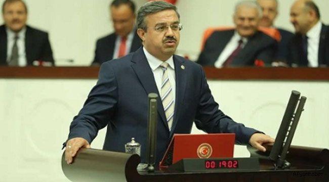 Yurdunuseven, Meclis'te konuştu