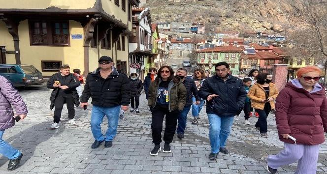 Afyon'a Rus turistlerin ilgisi devam ediyor!..