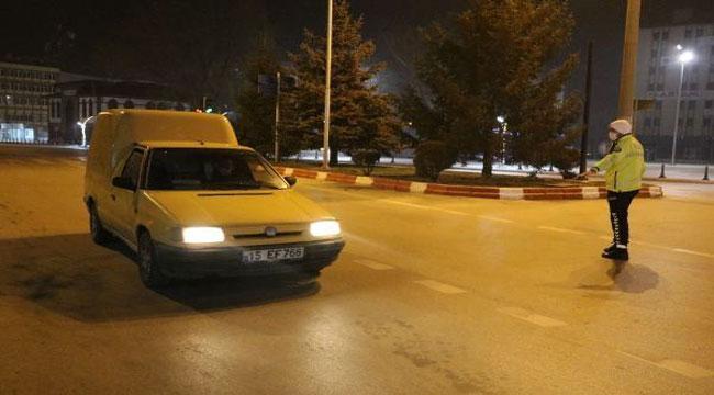 Afyon'da cadde ve sokaklarda sessizlik hakim
