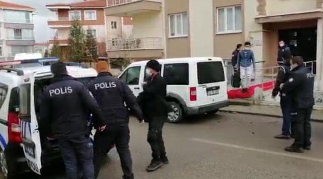 Afyon'da kaçak göçmen operasyonu: 25 gözaltı