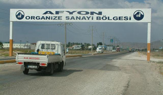 Afyon'da fabrika binası icra yoluyla satılığa çıkartıldı