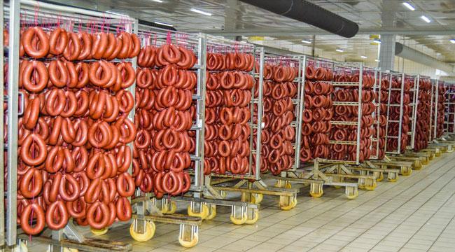 Afyon'da sucuk üretimi arttı