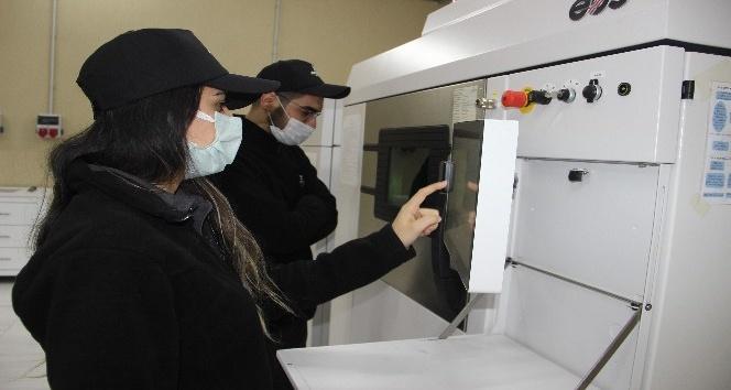 Afyon'da titanyumdan üretilen yedek parçalar, uluslararası uçak firmalarına satılacak