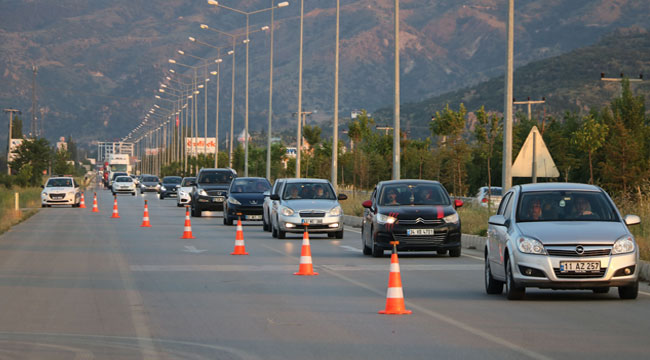 Afyon'daki araç sayısı 230 bin 313 oldu