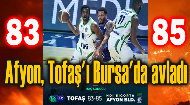Afyon, Tofaş'ı Bursa'da avladı:83-85