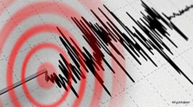 Afyonkarahisar'da deprem!..