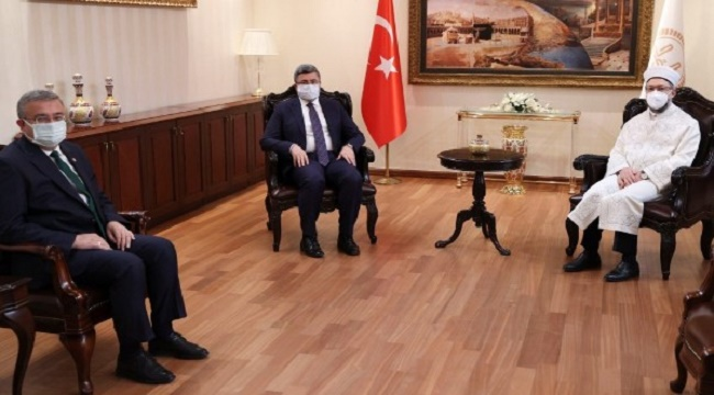 Afyonkarahisar'ın imam eksiğini Erbaş'a ilettiler