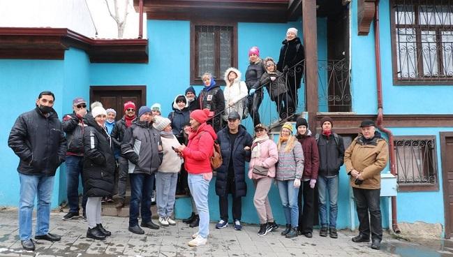 Afyonkarahisar yabancı turist kafilesini ağırladı