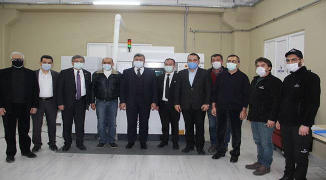 AK Parti heyeti Artuk Aviation'da!..
