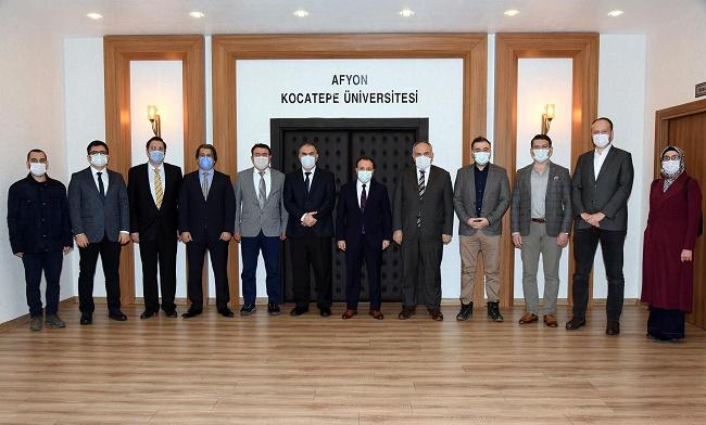 AKÜ'ye yeni atanan öğretim üyeleri için tanışma toplantısı düzenlendi