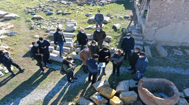 Amorium Antik Kenti adım adım turizme kazandırılıyor