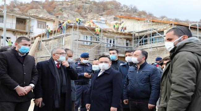 Ayazini'nde 148 ev restore edilecek