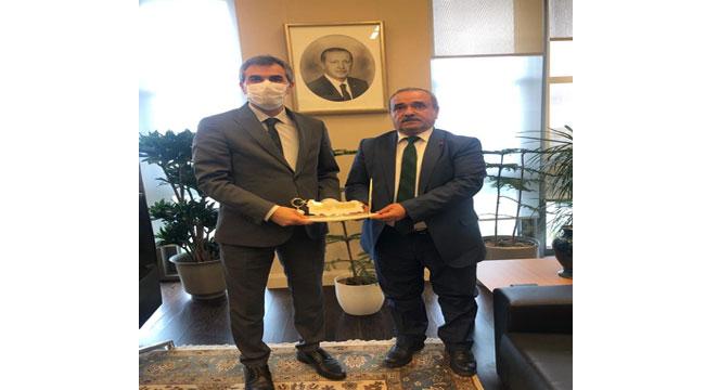 Başkan Şahin, projelerini Talip Uzun'a anlattı