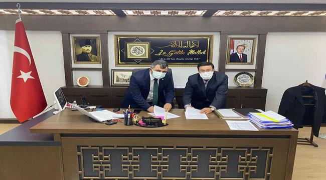 Emirdağ Belediyesi'nde Sosyal Denge Sözleşmesi imzalandı