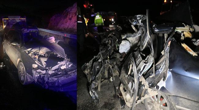 Feci kaza, aynı aileden 5 kişi öldü!..