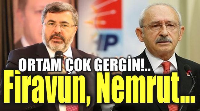 Firavun da sensin, Nemrut da sensin!..
