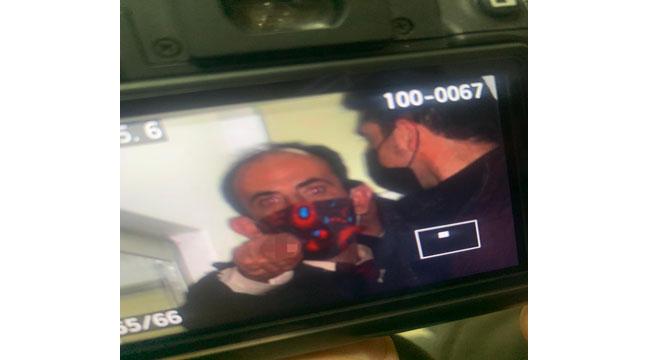 Gözaltına alınan muhtardan gazetecilere hakaret