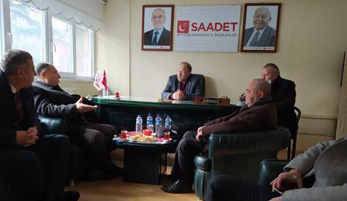 İYİ Parti heyeti; DP, SP, Gelecek ve DEVA Partisini ziyaret etti