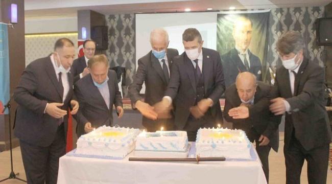 İYİ Parti'nin 3. yaşı Afyonkarahisar'da da kutlandı