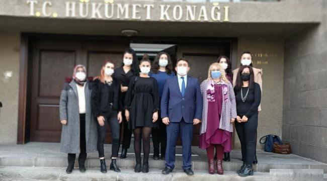 Kadın Girişimciler Vali Yardımcısı Nurullah Kaya'yı ziyaret etti