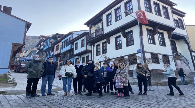 Kısıtlamada tarihi sokaklar turistlere kaldı