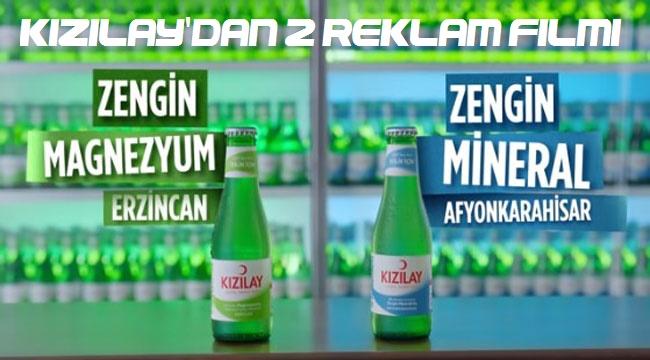 Kızılay'dan maden suları için 2 ayrı reklam filmi!..