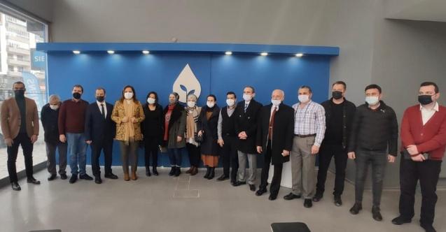 Milletvekili Burcu Köksal, DEVA Partisi İl Başkanlığını ziyaret etti