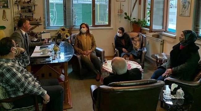 Milletvekili Köksal'dan Gelecek Partisi'ne hayırlı olsun ziyareti