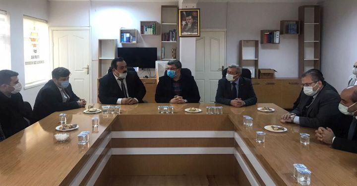 Milletvekili Özkaya, Bolvadin ve Dişli'yi ziyaret etti