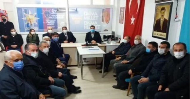 Milletvekili Özkaya, Dinar, Evciler ve Başmakçı ilçelerini ziyaret etti