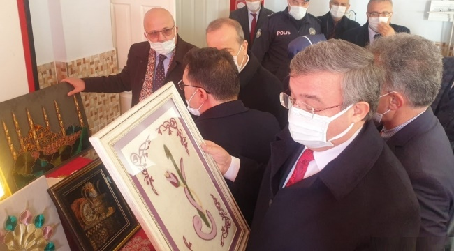 Milletvekili Yurdunuseven Bolvadin'de