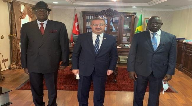 Milletvekili Yurdunuseven, yeni Senegal Büyükelçisini ziyaret etti