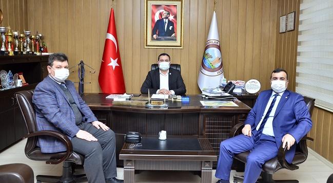 Nüfus Müdürlerinden Başkan Altuntaş'a ziyaret