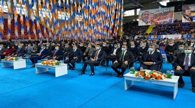 AK Parti Afyon Gençlik Kolları kongresi yapıldı