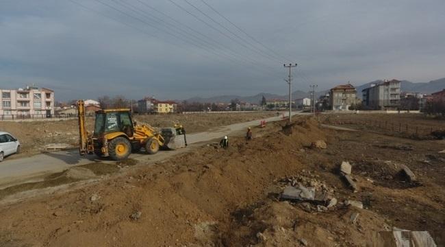 Sandıklı'da Millet Bahçesi Projesinin inşaat çalışmaları başladı