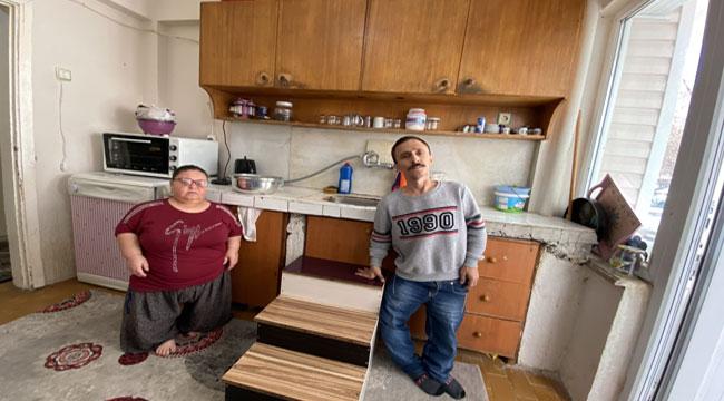 Tek istekleri, boylarına göre mutfak tezgahı!..