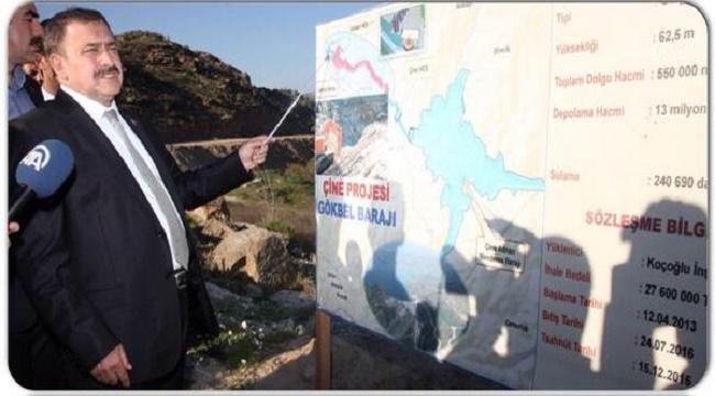 Veysel Eroğlu, Aydın'a yapılan su yatırımlarını anlattı