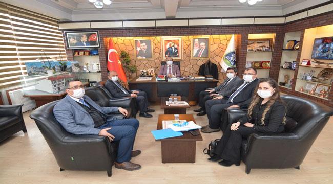 Zafer Kalkınma Ajansı Başkan Çöl'ü ziyaret etti
