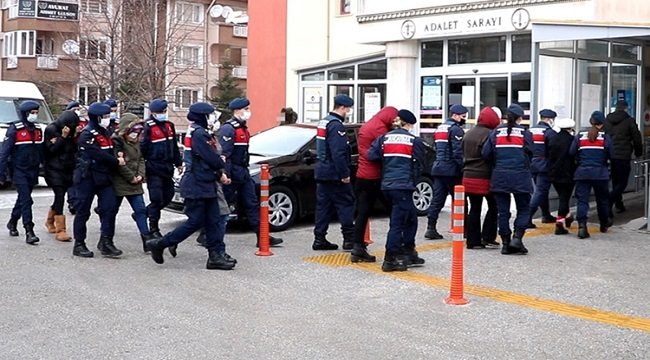 11 zanlı tutuklandı!..