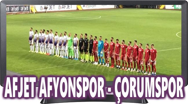 Afjet Afyonspor Çorumspor maçı hangi kanalda?..